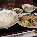 皇庭餃子房 - ランチセット