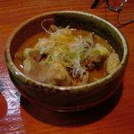 寿司 地魚料理 水月 - 牛モツ煮込み500円