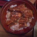 清水寿司店 - ボリュームな鰻丼