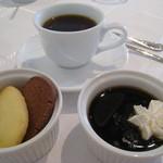 17590875 - コーヒーゼリー クッキー コーヒー