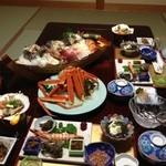 旬彩 つりばし - 一日目の夕食