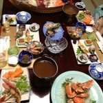 旬彩 つりばし - 二泊目の夕食