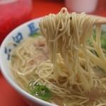 元祖長浜屋ラーメン - 麺