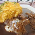 山猫料理店 - ビーフシチューソースオムライス更にアップ