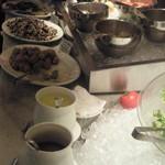 ザ キッチン サルヴァトーレ クオモ - ビュッフェの料理の数々1