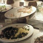 ザ キッチン サルヴァトーレ クオモ - ビュッフェの料理の数々2