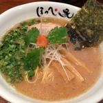 らーめん ほっぺ家 - 和風醤油らーめん(750円)