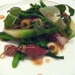 アプローズ - ホタルイカと春野菜のサラダ