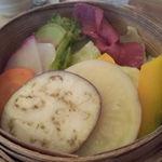 17597701 - '13/01 せいろ蒸しのお野菜