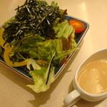 美福苑 - 豆腐サラダ