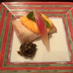 日本料理雲海 - 【春の祝い会席】焼物 鰆菜種焼き 蕗伽羅煮。