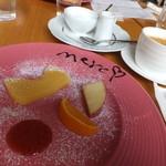 merci - デザート