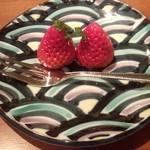 日本料理雲海 - 【春の祝い会席】果物 いちご。