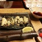 地場飯&地酒 満天 - 牡蠣の松前焼き 800円