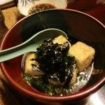 地場飯&地酒 満天 - 揚げだし豆腐 500円