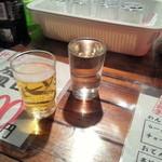 屋台安兵衛 - 日本酒とビール