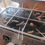 しま茶屋 - 料理写真:おでんの出汁のいい匂い、ええ出汁が出とるぞん