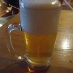 ピッツエリア ボーノボーノ - 生ビール