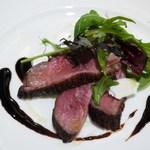 ロニオン - フランス産鴨胸肉のロースト 木いちご風味のバルサミコソース