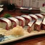 17606063 - 鯖棒寿司・1,000円也