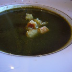 17608277 - 法蓮草のポタージュスープ