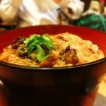 車 - ●地鶏炭火焼きを使用した親子丼♪昇天しそうなうまさだよ。。はぁ。。