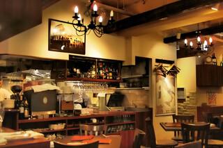 コロッセオ中目黒 - これは夜の店内。
