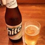 パクちゃん家 - ハイトビール