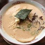十八代目 哲麺 - エビ辛味噌ラーメン
