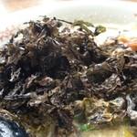 十八代目 哲麺 - 味噌磯のりラーメン、磯のり