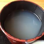 手打蕎麦 和の里 - 薄すぎず濃すぎず 個人的にはベストな蕎麦湯