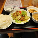好味来 - 回鍋肉定食大盛り(650円)