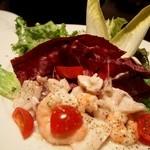 イルピノーロ カフェ - 魚介のマリネサラダ