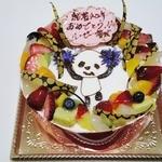 パティスリー ありがとう - 特注のデコレーションケーキ