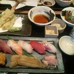 薩摩魚鮮 - 握り寿司御膳