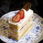 アブルーム  - 苺のショートケーキ