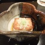 壽山 - 焼き胡麻豆腐。よいよい。