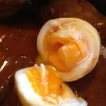 Soup Curry SAMURAI. - 半熟卵アップ