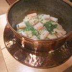 壽山 - 蟹と筍ごはん。