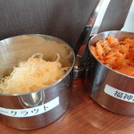 麹町咖喱 - サワークラフト&福神漬
