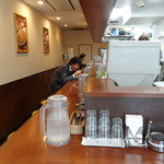麹町咖喱 - カウンター席