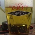 焼肉白李 - Extra Cold ビール