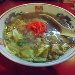 遊友 - 料理写真:焼きそばラーメン