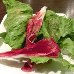 17624167 - 刺激的な四川麻婆豆腐 1200円 のサラダ