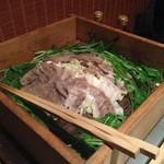 月寅 - 広島牛の、なんちゃら、蒸し。 正しい名前は忘れ…