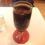 17625689 - ケーキセット(\300)♪アイスコーヒー♪
