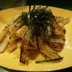 なかちゃん - 2013.03 長い物炒め物素朴な味わいでした。