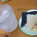 nikiniki - 2013.03 透明なアルコールと一緒に頂きました:爆