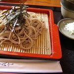 奥久慈 - 料理写真:ざるそば