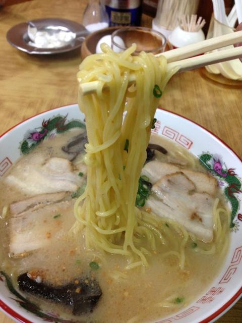 玉龍 - 麺が違います。